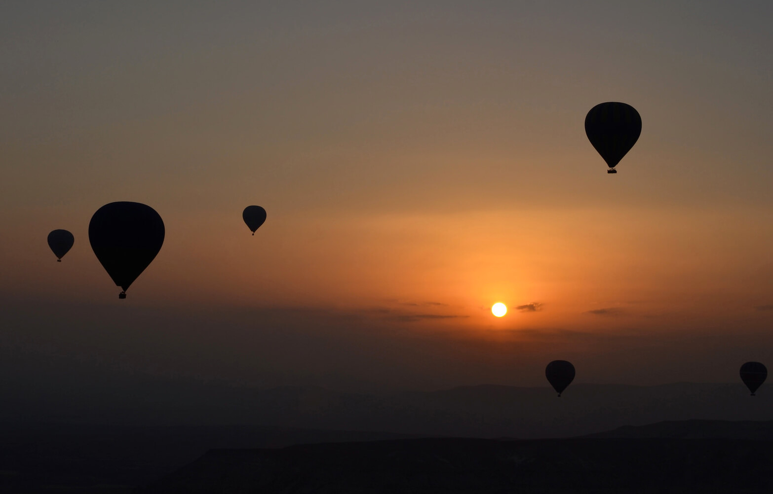 Hot Air Baloons in Capadoccia